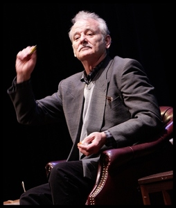 Bill Murray takes part in the Ford Hall Forum's 2012 First Amendment Award celebration honoring James Downey.