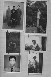 Group of family photographs submitted by a Chinese national related to his immigration case file
