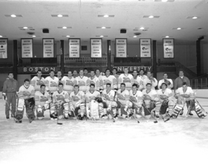1992 Suffolk University Men's hockey team
