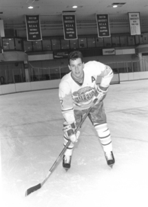Suffolk University hockey player Sean O'Driscoll, 1992
