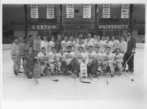 1989-1990 Suffolk University Men's Hockey team