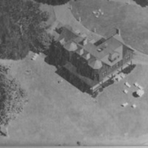 Aerial view of the home of S. John Connolly