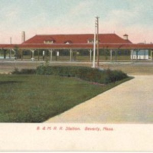 B & M R. R. Station, Beverly, Mass.