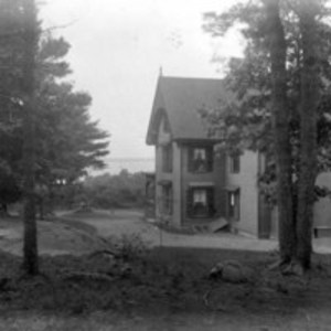 Beverly. W. G. Saltonstall's residence from the rear