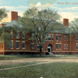 Beverly, Mass., Hardie School, front view