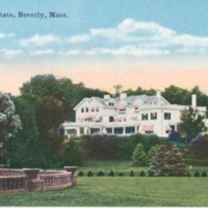 A. Shuman Estate, Beverly, Mass.