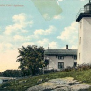 Beverly, Mass., Hospital Point Lighthouse