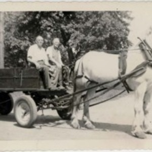 Grampy - horse and wagon