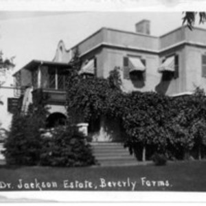 Dr. Jackson Estate, Beverly Farms