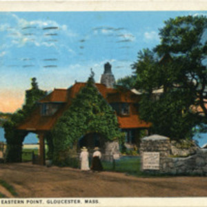Gate Lodge, Eastern Point, Gloucester, Mass.