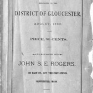 List of vessels belonging to the district of Gloucester (1883)
