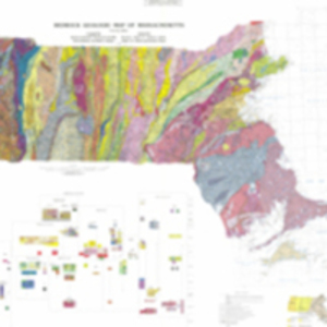 Bedrock geologic map of Massachusetts