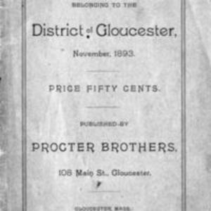 List of vessels belonging to the district of Gloucester (1893)