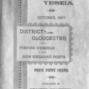 List of vessels belonging to the district of Gloucester (1897)