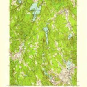 Milford quadrangle, Massachusetts / Mapped, edited, and published by the Geological Survey