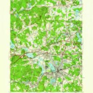 Framingham quadrangle, Massachusetts / Mapped, edited, and published by the Geological Survey