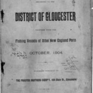 List of vessels belonging to the district of Gloucester (1904)