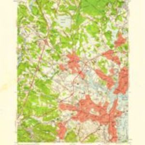 Salem quadrangle, Massachusetts -- Essex Co. / Mapped, edited and published by the Geological Survey