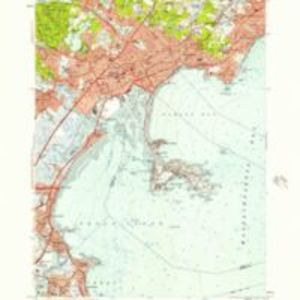 Lynn quadrangle, Massachusetts / Mapped, edited and published by the Geological Survey.