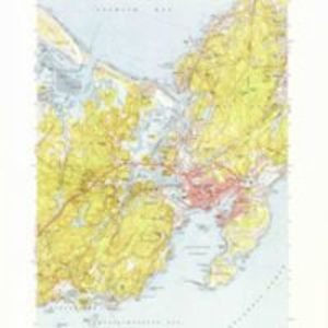 Gloucester quadrangle, Massachusetts / Mapped, edited and published by the Geological Survey
