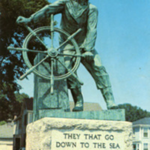 Fishermen's permanent memorial, Gloucester, Mass.