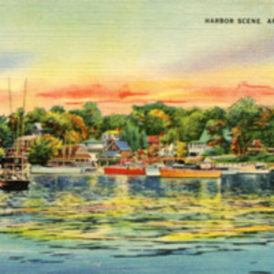 Harbor scene, Annisquam, Mass.