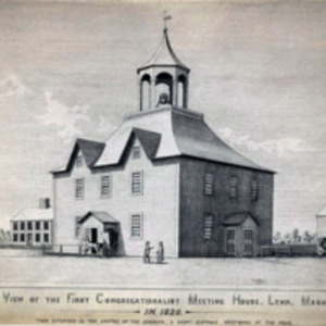 First Congregational Church, 1820; Old Tunnel Meeting House