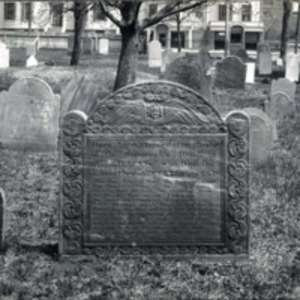 Western Burying Ground : John Burrill headstone