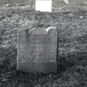 Western Burying Ground : John Clifford headstone
