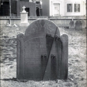 Western Burying Ground : John Flagg headstone