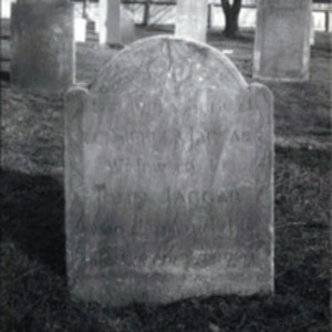 Western Burying Ground : John Jagger headstone