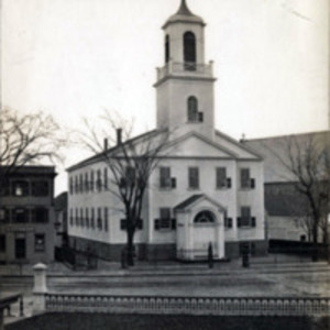 First M.E. Church (Old Bowery), corner South Common and Market Streets opposite City Hall Square