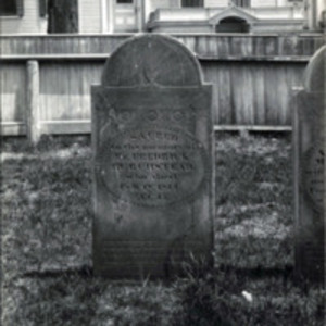Western Burying Ground : Burchstead headstone