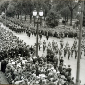 Connery funeral: procession arriving at St. Mary's Church. June 21, 1937