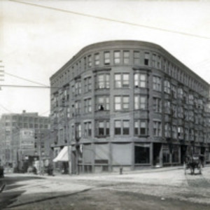 Bank Square, Broad and Exchange Streets, West Corner