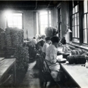 A.E. Little and Company, shoe manufacturer; stitching room, 70 Blake Street: View 5