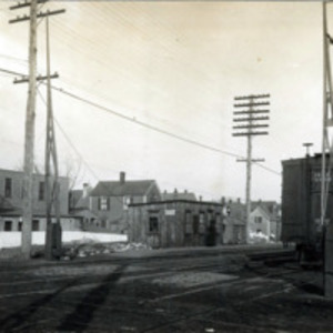 West Lynn Station, B&M temporary station, Commercial Street