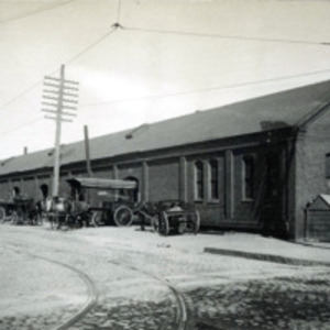 Freight house (old), south side of State Street