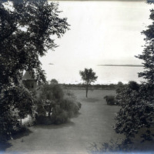 A.E. Little residence, 264 Ocean Street : view of Ocean from rear