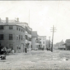 Alley Street from corner of Pleasant