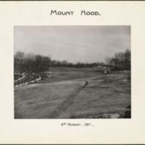 Mount Hood : 6th fairway