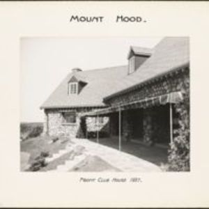 Mount Hood : front clubhouse