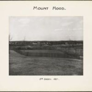 Mount Hood : 5th green
