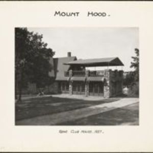 Mount Hood : rear clubhouse