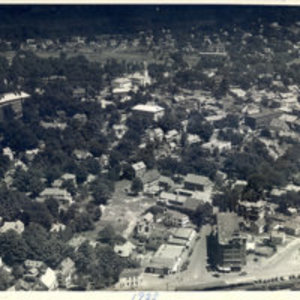 1928 aerial photo, Reading, Mass.