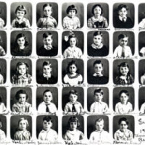 First grade at Union Street School