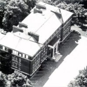 Aerial view Reading High School