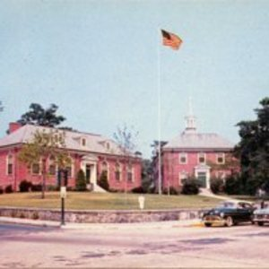 Reading Public Library and municipal building