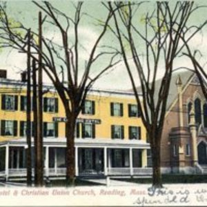 Elmwood Hotel and Christian Union Church, Reading, Mass.