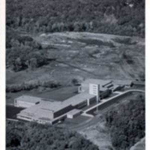 Aerial view of the Reading Memorial High School